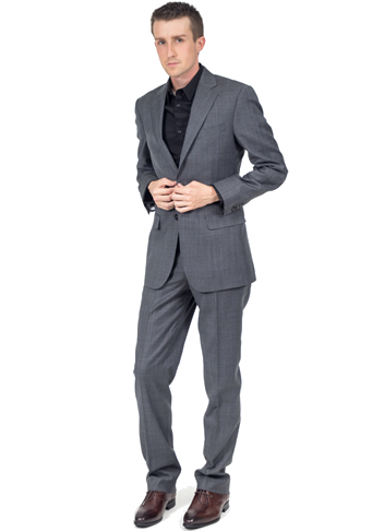 Mens Suit Front View